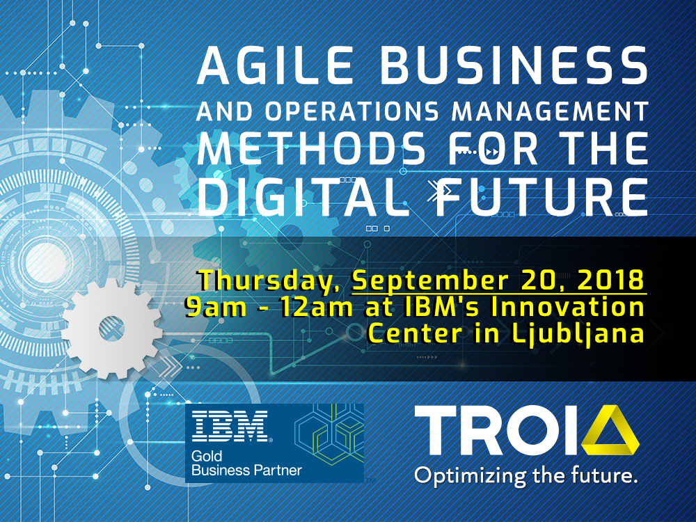 INVITATION: Agile business and operations management methods for the digital future