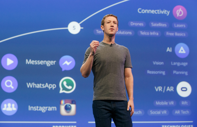 """Physical things don't need to be physical."" Mark Zuckerberg's vision for AR"