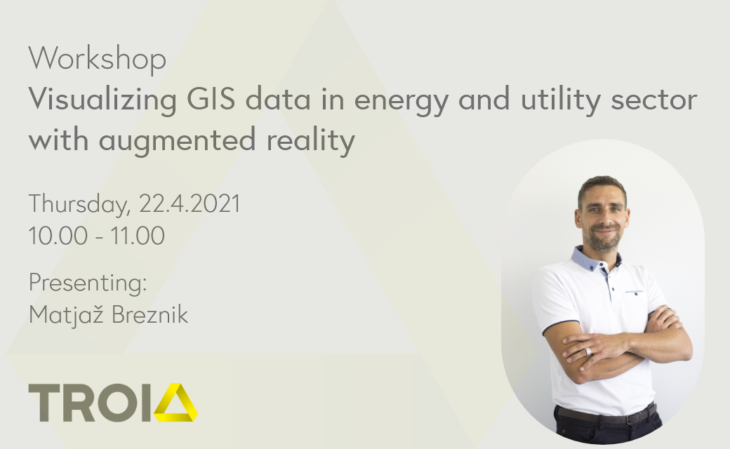 Visualizing GIS data in energy and utility sector with augmented reality